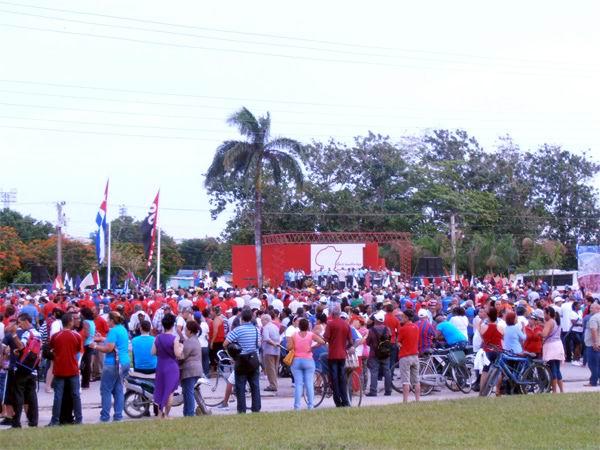 Celebran avileños Día de la Rebeldía Nacional