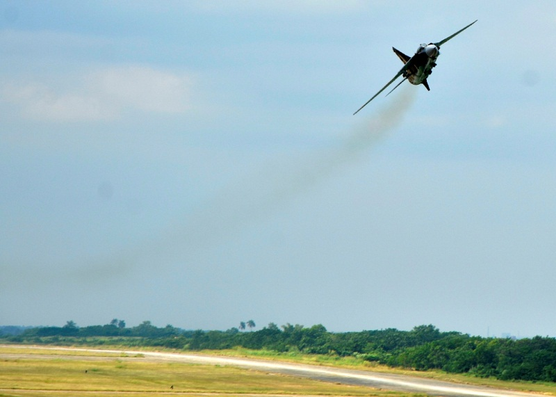 La Fuerza Aérea Cubana lista para vencer