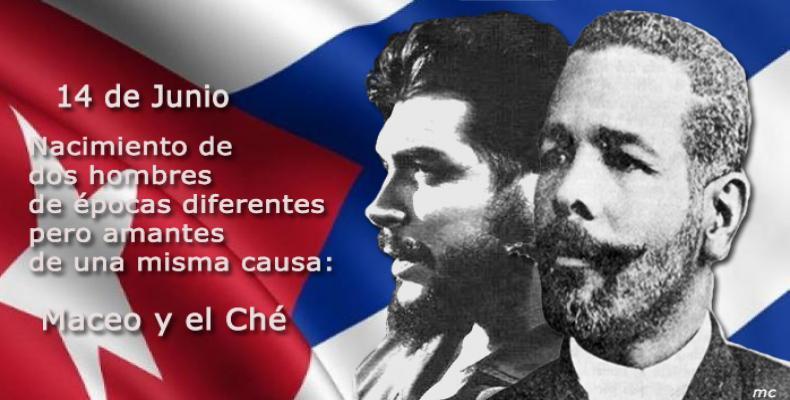 Maceo y Che: Dos Titanes unidos por la historia (+Audio y Fotos)