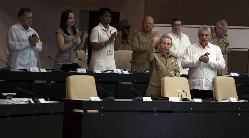 Raúl Castro participa en la sesión de la Asambla Nacional. Foto: Ladyrene Pérez