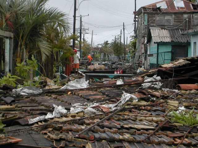 Huracán Paloma 8  de noviembre de 2008