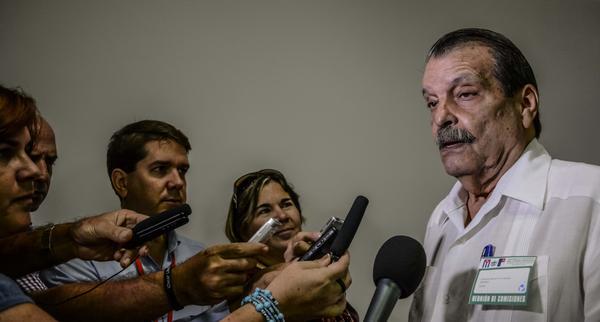 Abelardo Moreno, reconoció en La Habana que existen grandes expectativas ante la reunión de la Celac. Foto Marcelino Vázquez