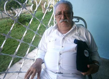 Juan Pedro Avilés Marchena, Profesor de la Cátedra del Adulto Mayor en la Universidad de Cienfuegos. Foto: Mireya Ojeda