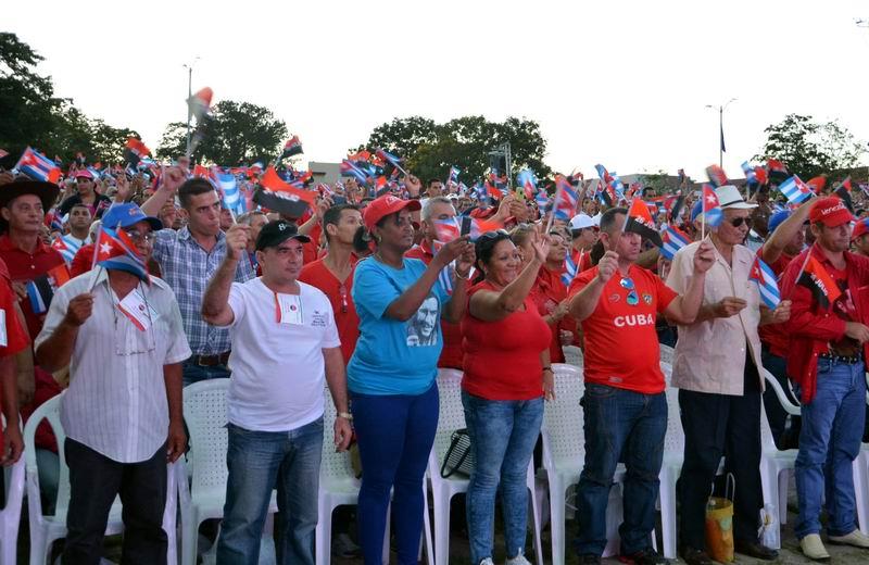 Sancti Sp�ritus dedica conmemoraci�n del Moncada al cumplea�os 90 de Fidel (+Fotos y Audio)