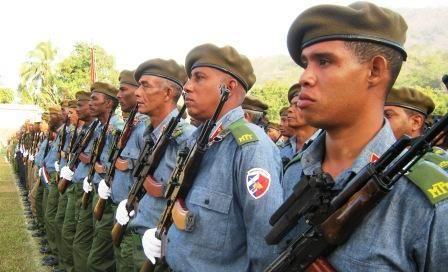 Este 6 de marzo se conmemoran 55 a�os de la fundaci�n, por tropas rebeldes, del III Frente Oriental Mario Mu�oz. Foto: Carlos Sanabia Marrero.