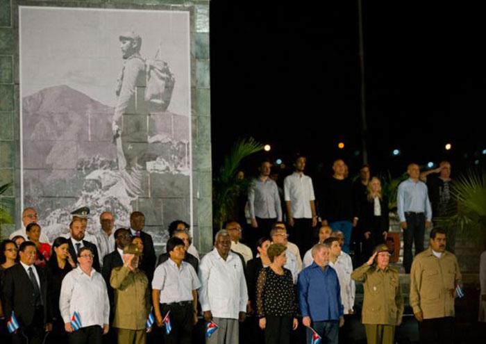 Fidel, ¡Hasta la victoria siempre!