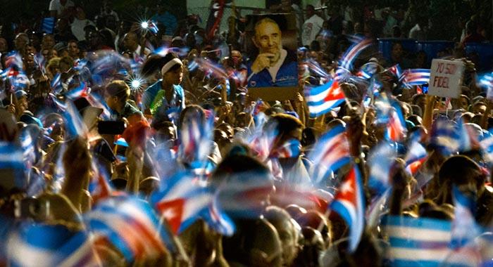 Fidel, Hasta la victoria siempre