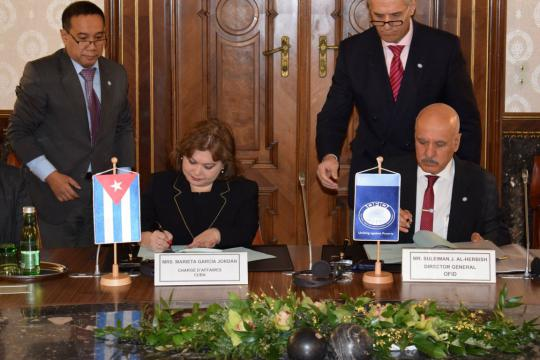 OPEC Fund to help finance Cuban solar energy project