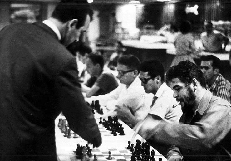 Che Guevara: El ajedrez, pasión inigualable