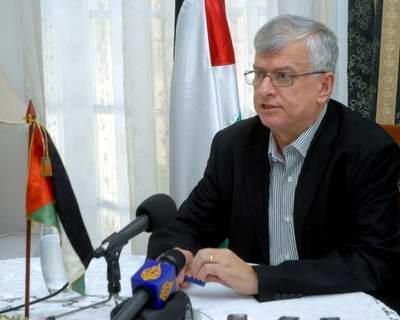 El embajador de Palestina en Cuba, Doctor Akram Samhan.