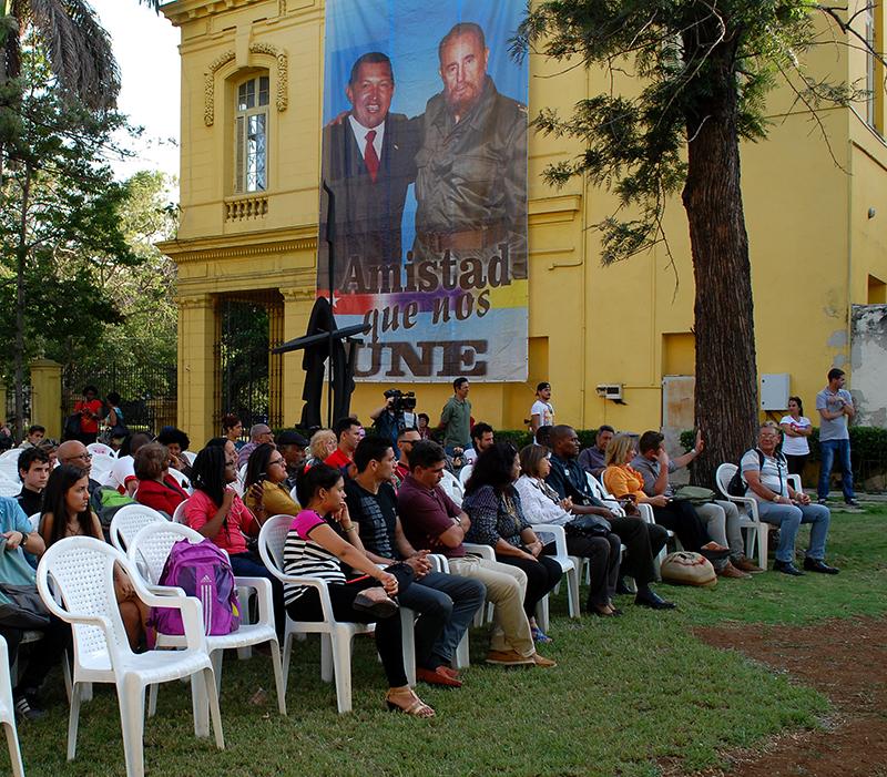 Recuerdan legado de Chávez en Cuba (+Audio y Fotos)