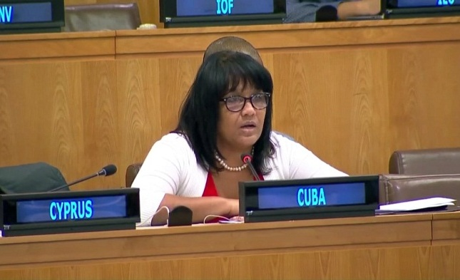 Cuba denounces US financial blackmail to the United Nations