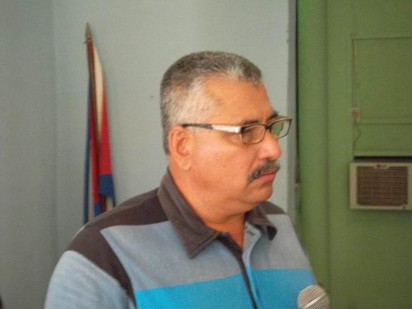 El Presidente de la Comisión Electoral en Las Tunas, Antonio Rodríguez Barrera, habló de un proceso que fluye normalmente. Foto: Juan Manuel Olivares.