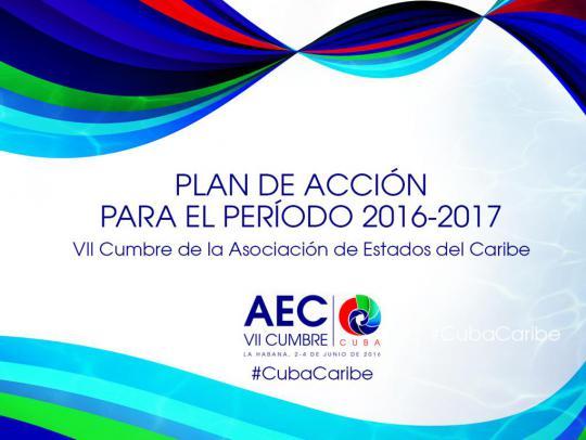 Plan de Acción para el periodo 2016-2018 según los acuerdos de la AEC.