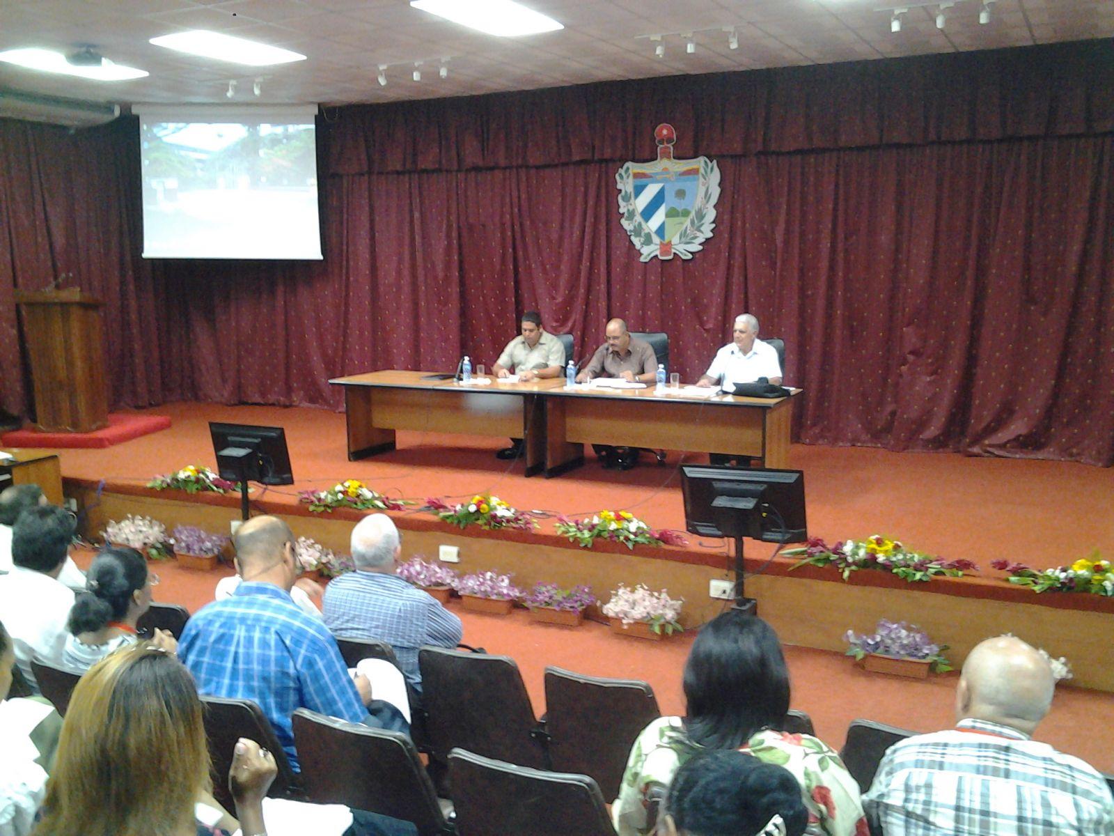 Asamblea Provincial de La Habana en sesión ordinaria. Fotos: Isel Quintana