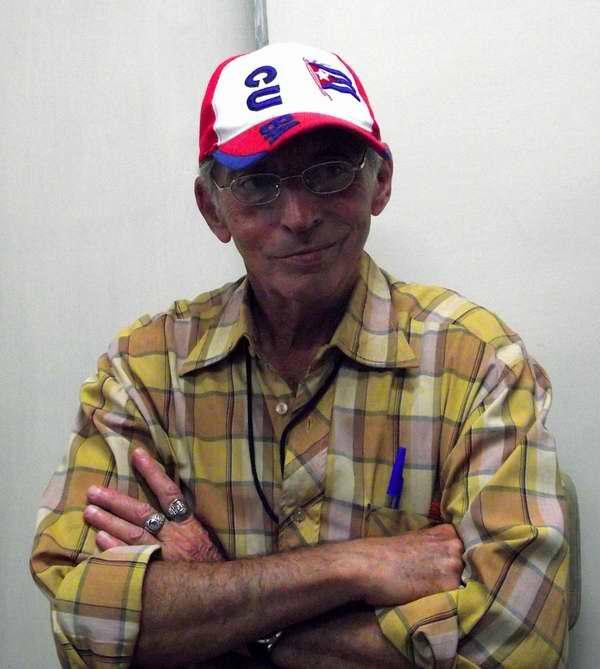 Bandera cubana en las gorras de los antillanos