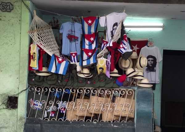 Réplicas comerciales de la bandera cubana