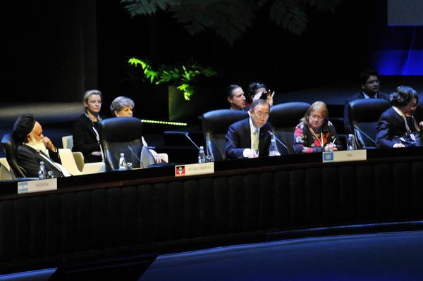 Interviene secretario de la ONU en sesión plenaria de la II Cumbre de la Celac. Foto Roberto Morejón