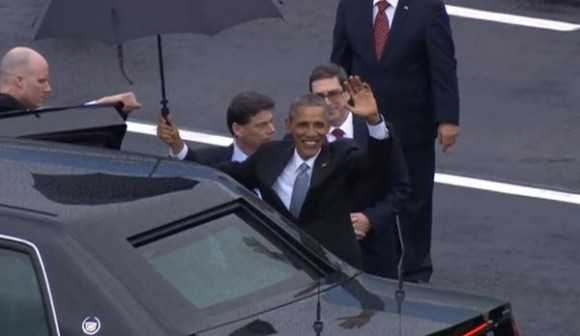 Presidente Barack Obama ya está en territorio cubano