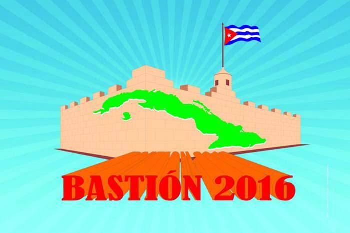Comenzó en Cuba el Ejercicio Bastión 2016