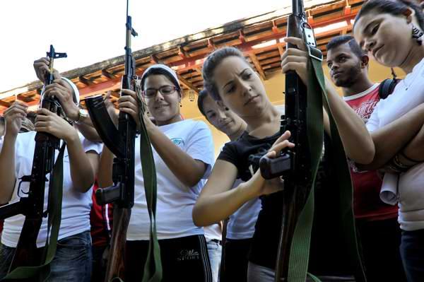 Cuba se prepara para la defensa. Foto: Juventud Rebelde
