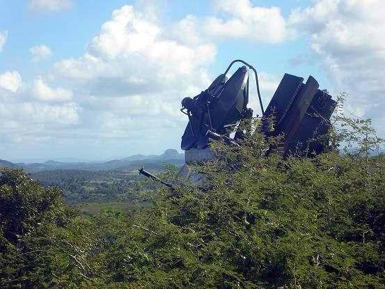 La tercera jornada del ejercicio estratégico Bastión 2013, tuvo en Holguín una connotación especial: se comprobó la defensa ante un supuesto ataque aéreo. Foto Aroldo García