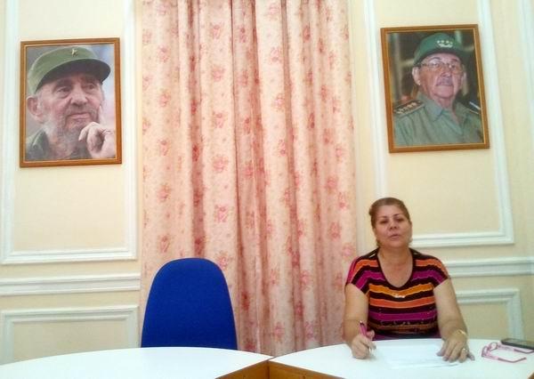 Betty Oria González, integrante del Secretariado Nacional de los CDR