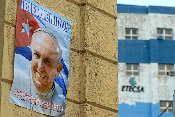 Recibirá Cuba al Papa Francisco. Foto: Juan Pablo Carreras