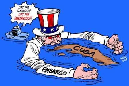 ¿Bloqueo o embargo contra Cuba?