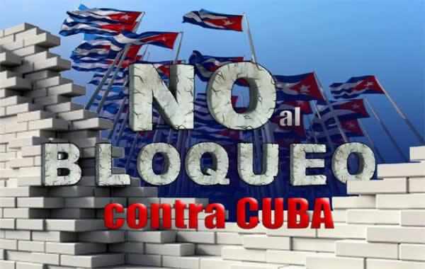 Condenan en México bloqueo de Estados Unidos a Cuba