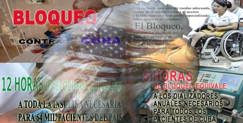 Afirma OPS que el bloqueo de EE.UU. contra Cuba es injusto