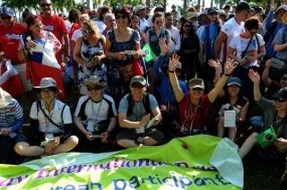 Visitan Sancti Sp�ritus amigos solidarios de Puerto Rico