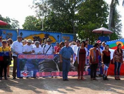 Expresan trabajadores del mundo respaldo a Revolución cubana