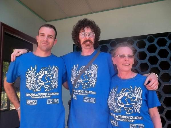 Brigada solidaria Giovanni Ardizzone inició sus labores en Las Tunas