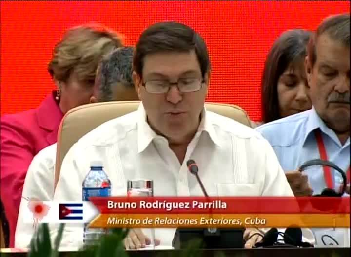 Cuban FM calls for unity against threats to the region