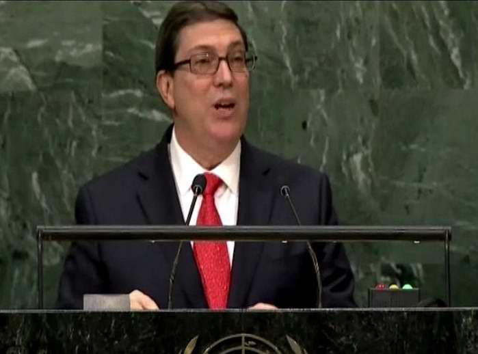 Bruno Rodr�guez: El bloqueo sigue causando graves da�os al pueblo cubano (+Audio)