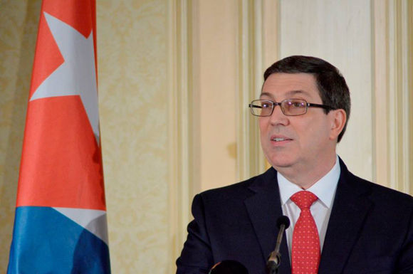 Cuban Foreign Minister warns on dangerous U.S. policy