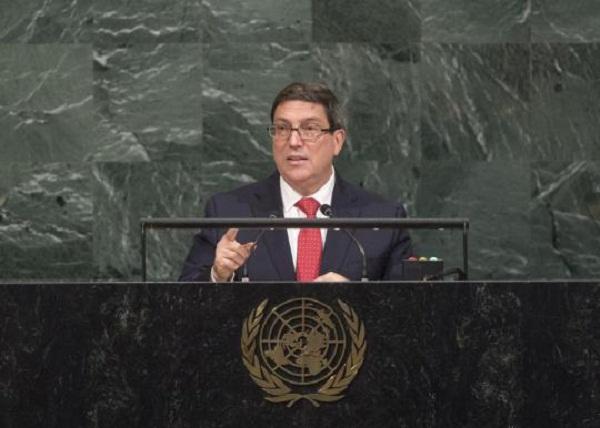 """Bruno Rodríguez Parrilla: """"Cuba jamás aceptará condicionamientos ni imposiciones"""""""