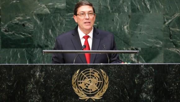 Bruno Rodriguez Parrilla En La Onu