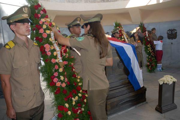 Juramento de lealtad en tributo a Martí y Fidel (+Audio)