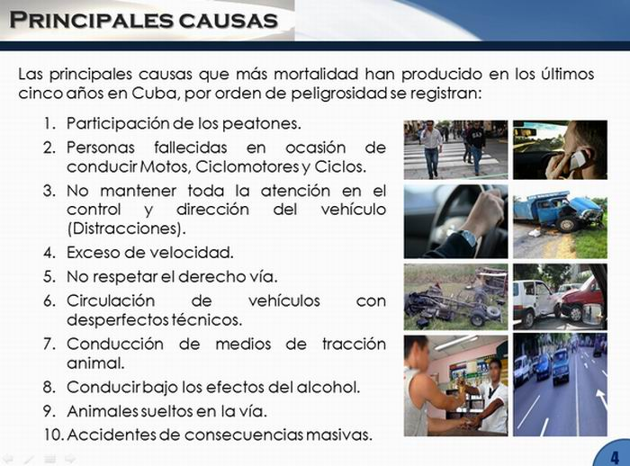 Factores de riesgo que inciden en la accidentalidad
