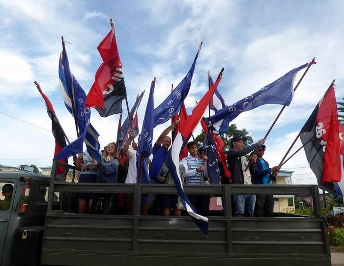 Como hace 59 Eneros, Fidel va al frente (+Audio y Fotos)