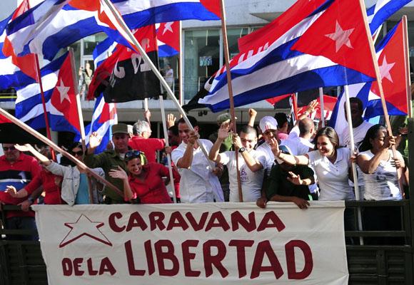 La Caravana de la Libertad otra vez
