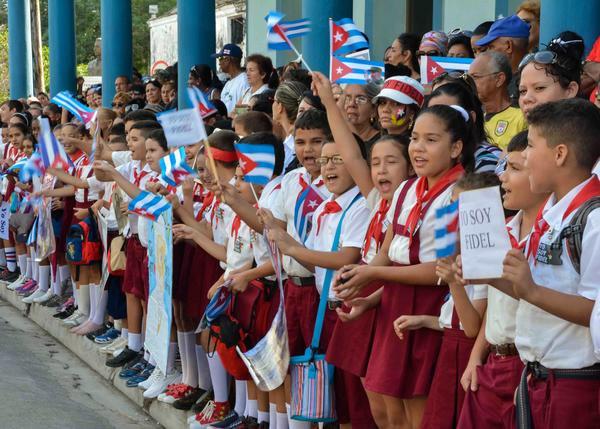 Homenaje a Fidel Castro en Las Tunas