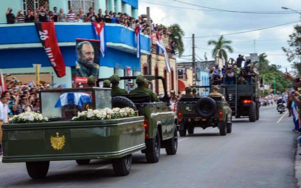 Homenaje a Fidel en Las Tunas