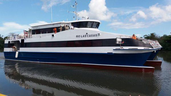 Nuevamente surcará los mares el catamarán Río las Casas