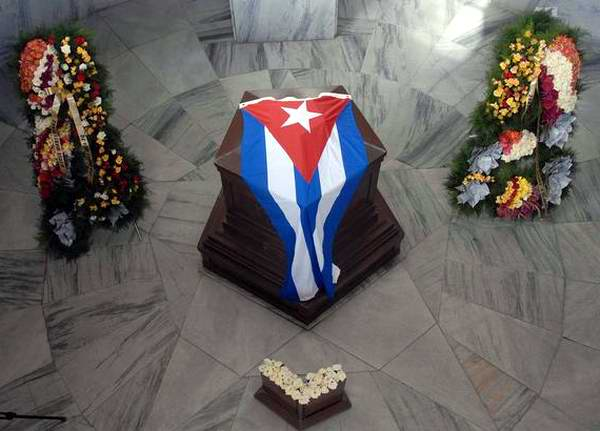 Homenaje a Héroe Nacional de Cuba por conmemoración histórica