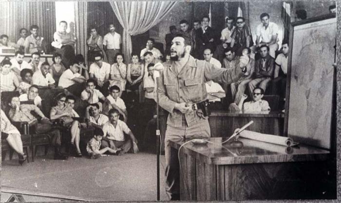 Che Guevara desde Los Altos de Conrado