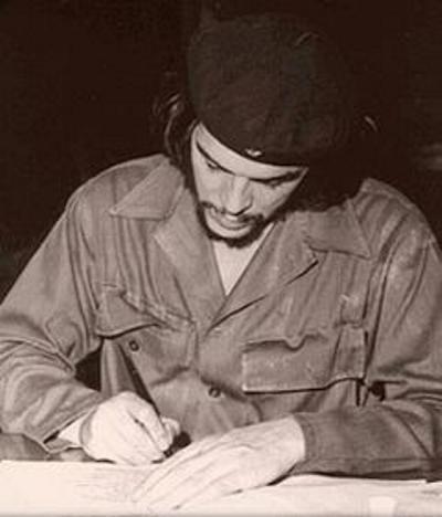 Che Guevara y su amada patria latinoamericana