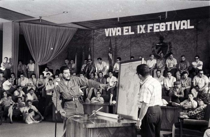 Che Guevara como dirigente de la Revolución